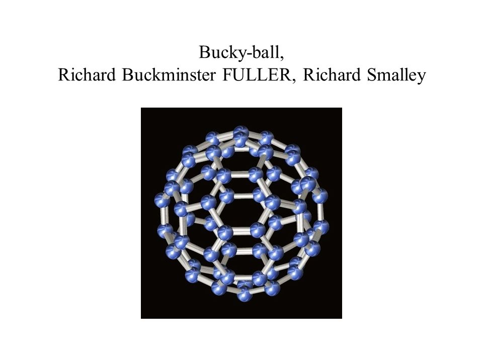 Bucky-ball, Richard Buckminster FULLER, Richard Smalley