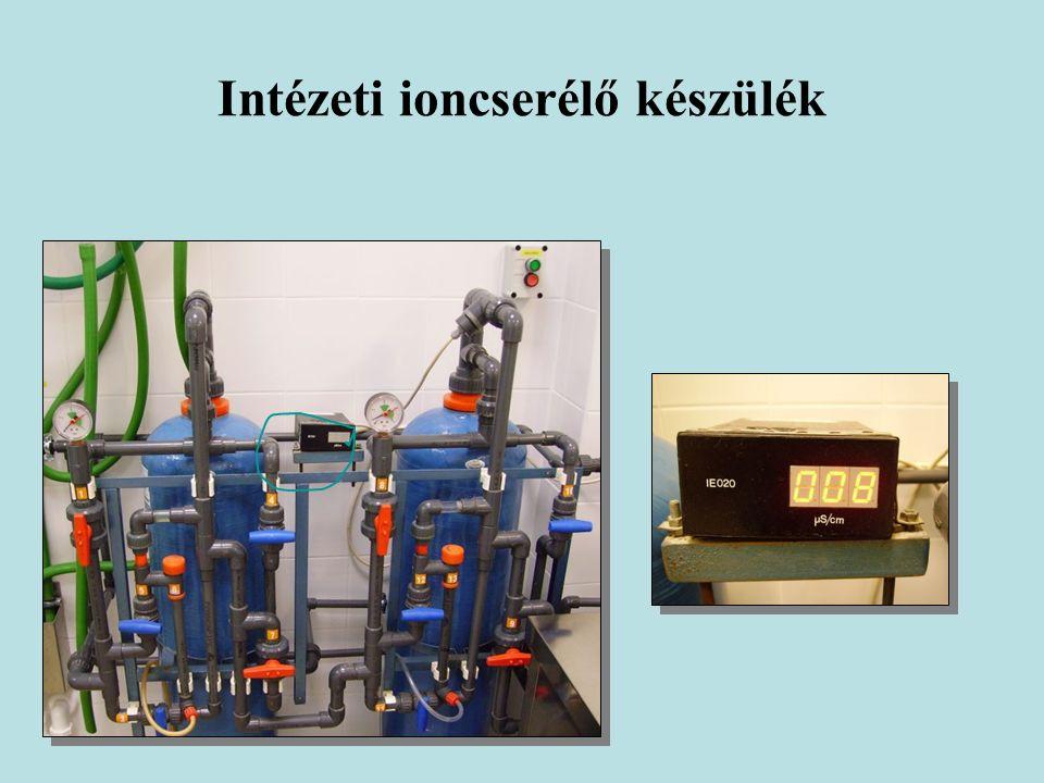 Intézeti ioncserélő készülék