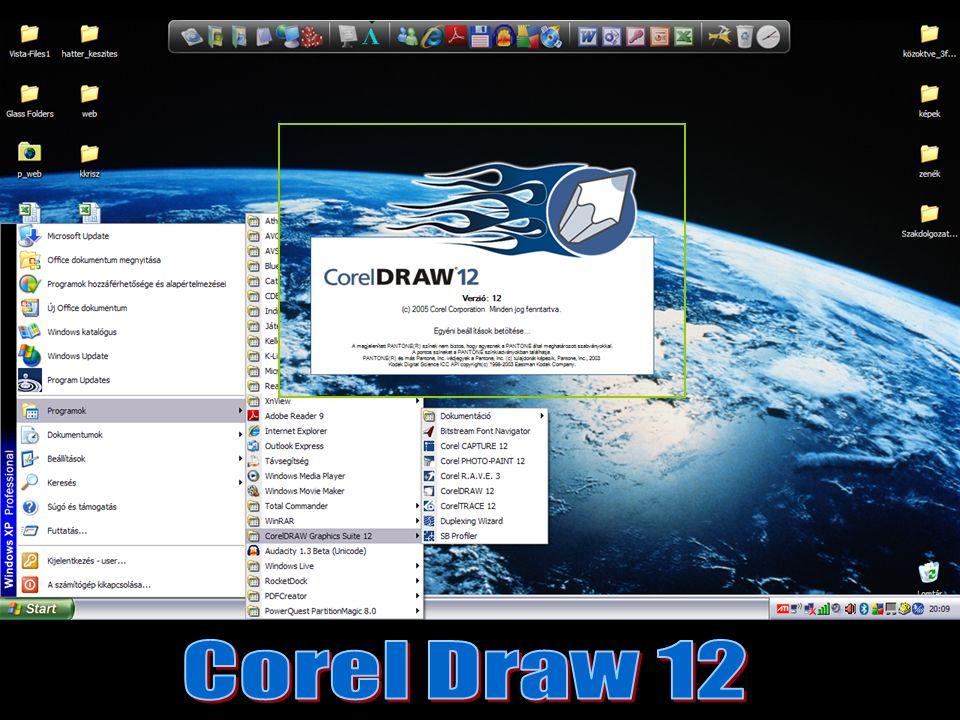 Grafikai szoftverek Vektorgrafikus Pixelgrafikus Corel DrawCorel Photo-Paint
