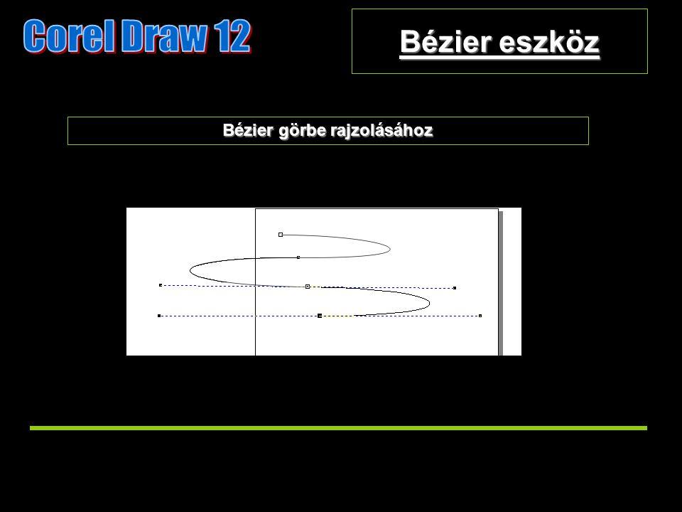 Bézier eszköz Bézier görbe rajzolásához
