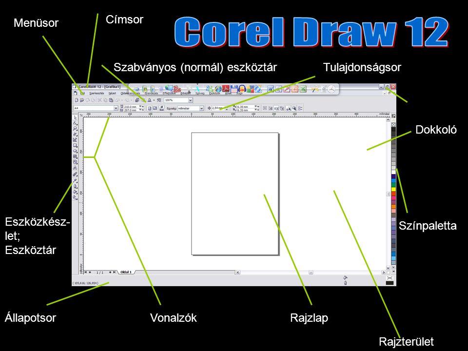 3 pontos görbe eszköz Három ponttal definiált ívek rajzolásához