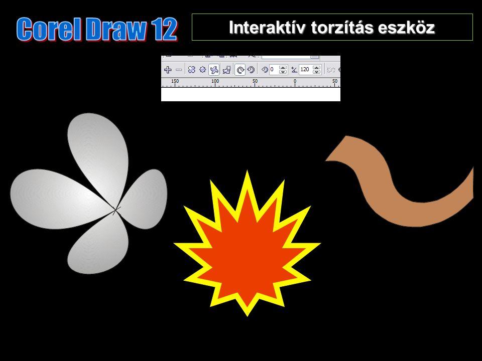 Interaktív torzítás eszköz