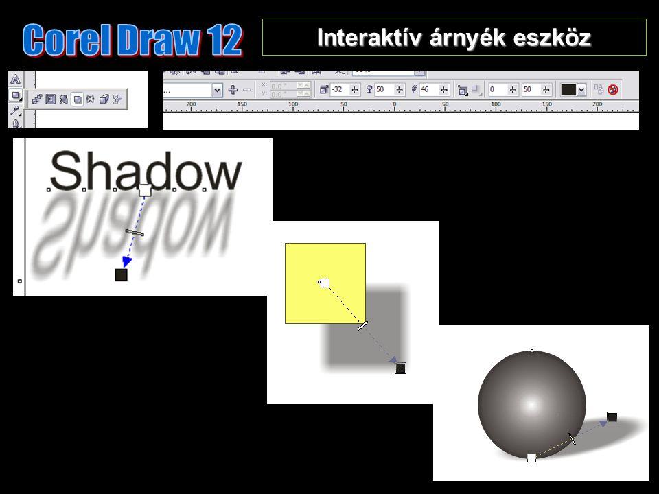 Interaktív árnyék eszköz