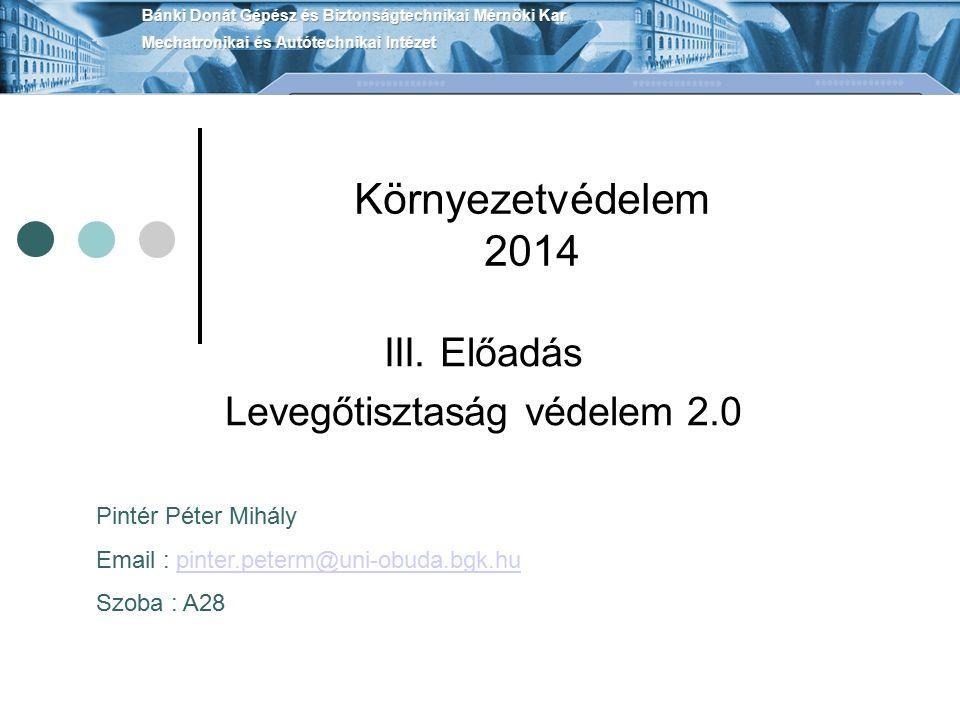 Környezetvédelem 2014 III.