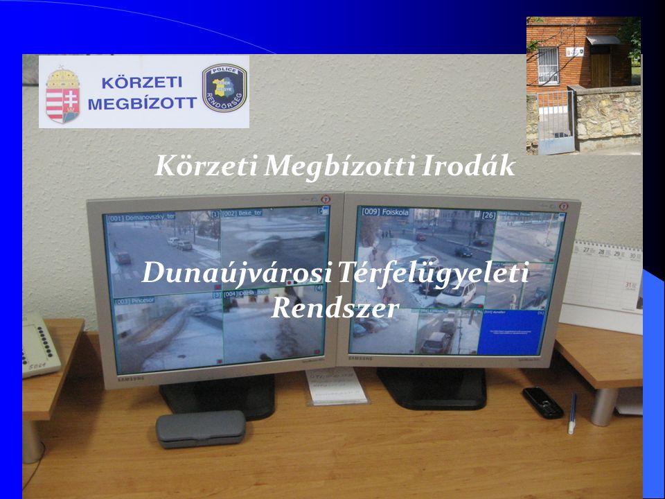 Körzeti Megbízotti Irodák Dunaújvárosi Térfelügyeleti Rendszer