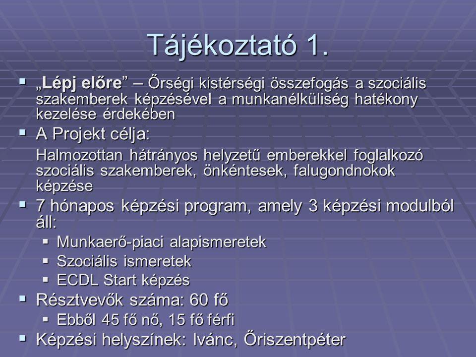 Tájékoztató 2.