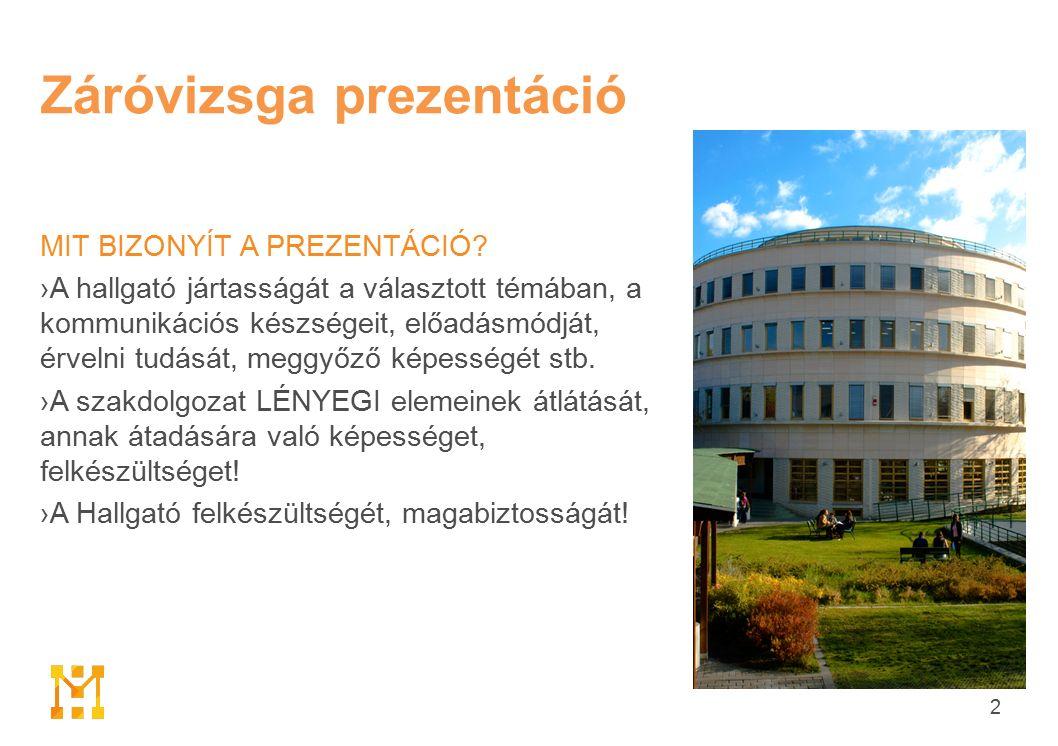 2 Záróvizsga prezentáció MIT BIZONYÍT A PREZENTÁCIÓ.