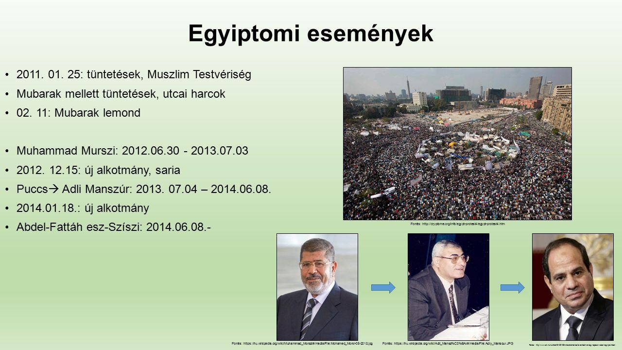 Egyiptomi események 2011. 01.
