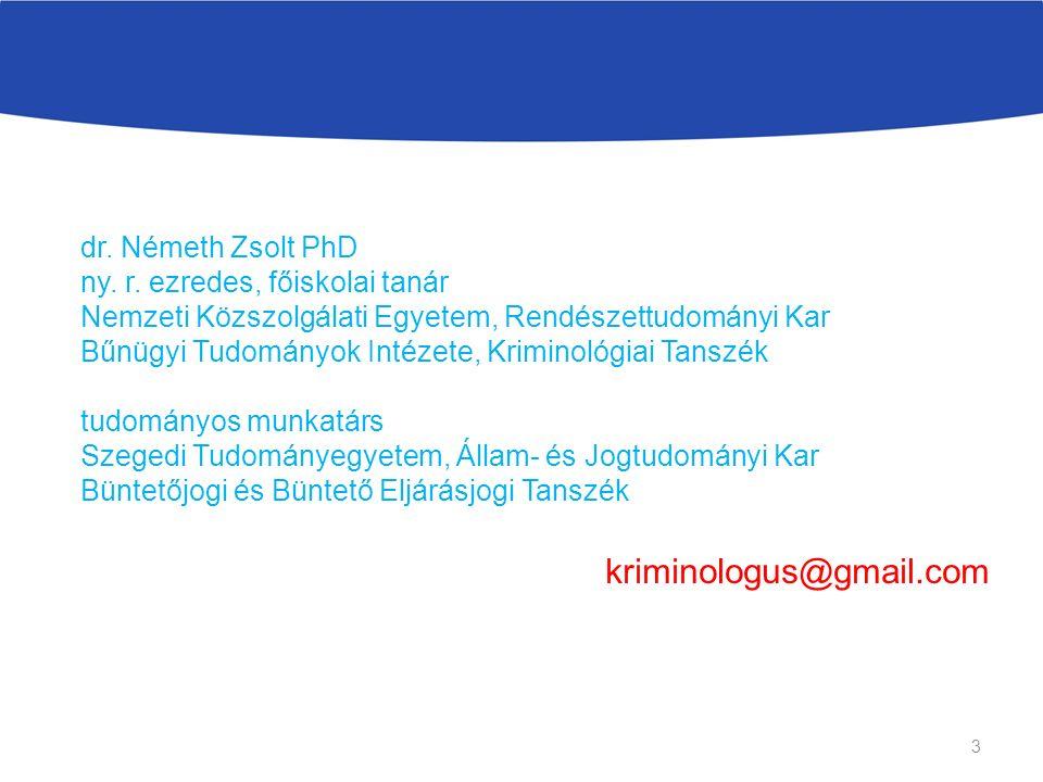 dr. Németh Zsolt PhD ny. r.