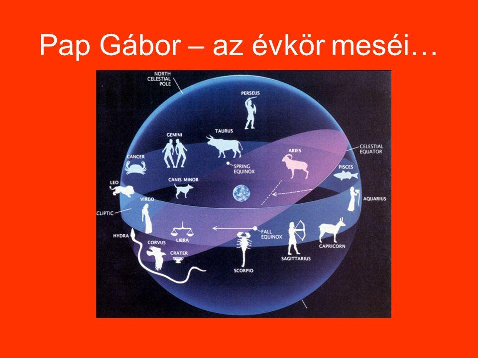 Pap Gábor – az évkör meséi…