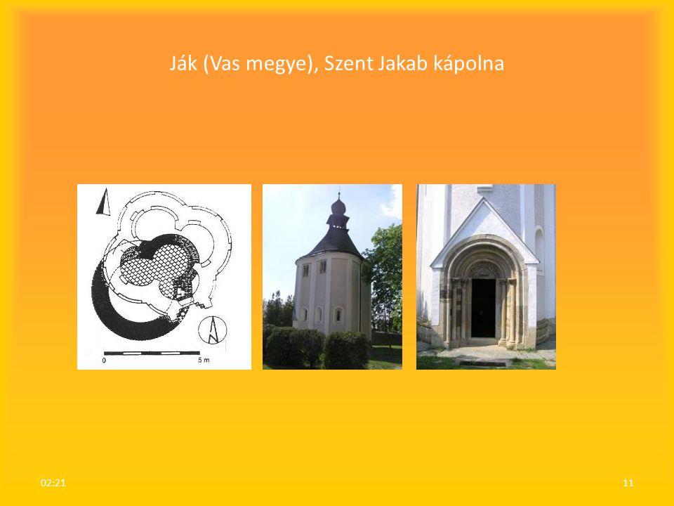 Ják (Vas megye), Szent Jakab kápolna 02:2311