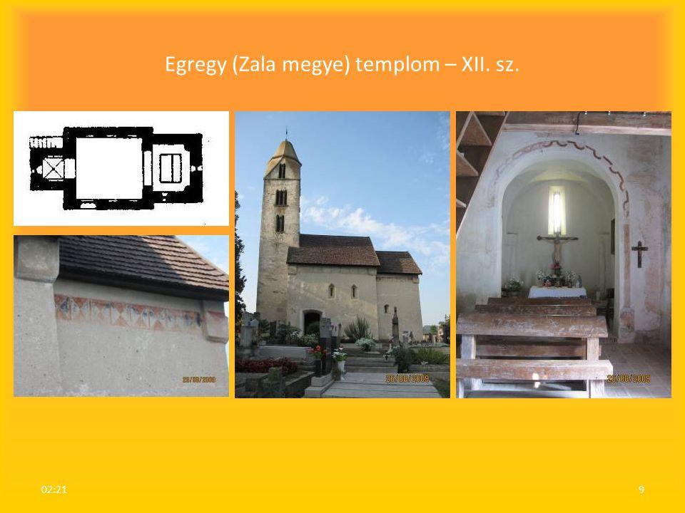 Egregy (Zala megye) templom – XII. sz. 02:239