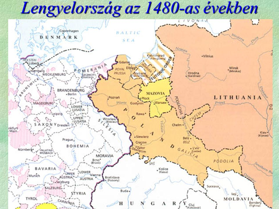 Lengyelország az 1480-as években