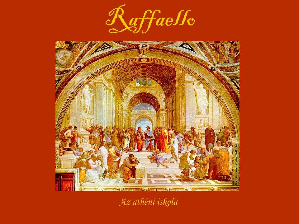 Raffaello Az athéni iskola