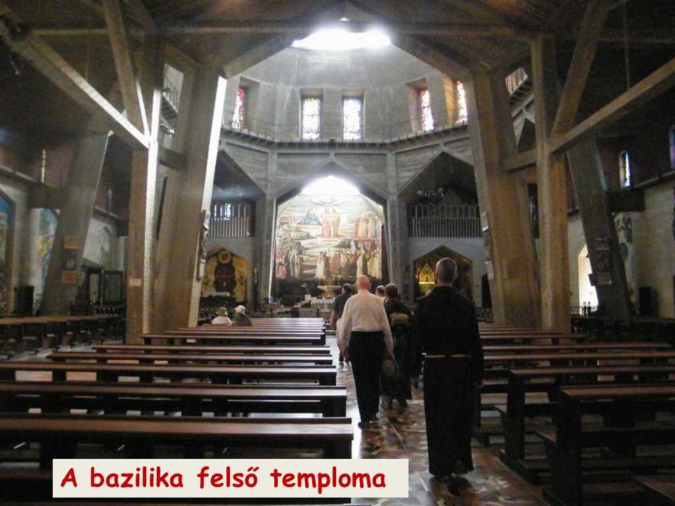 A bazilika felső temploma