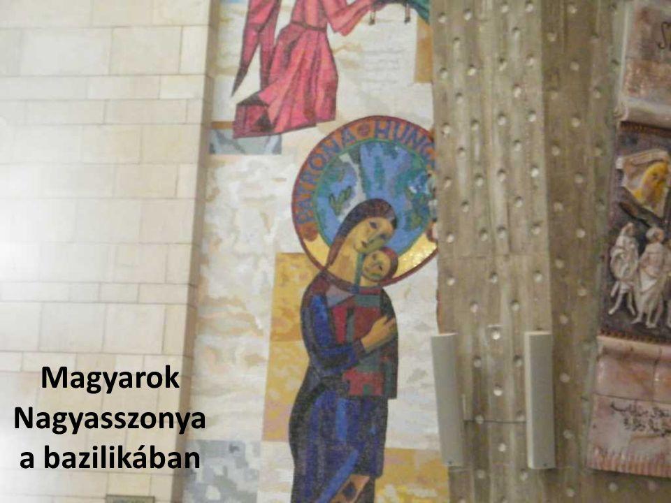 Magyarok Nagyasszonya a bazilikában