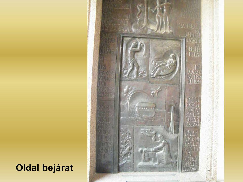 Oldal bejárat