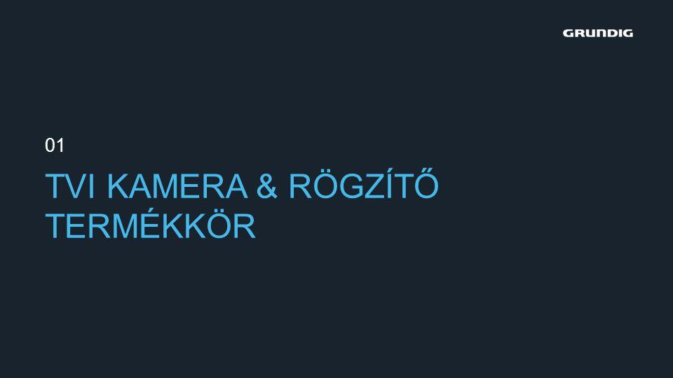 TVI KAMERA & RÖGZÍTŐ TERMÉKKÖR 01