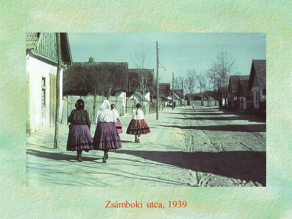 Zsámboki utca, 1939