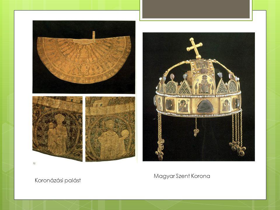 Koronázási palást Magyar Szent Korona