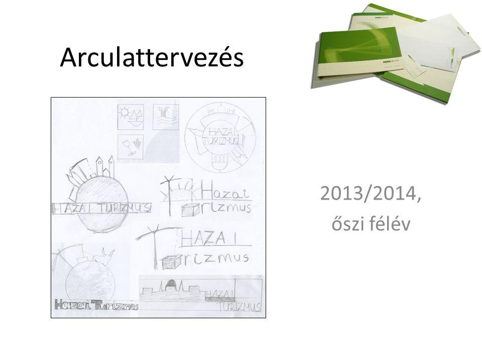 Arculattervezés 2013/2014, őszi félév