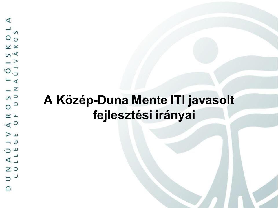 A Közép-Duna Mente ITI javasolt fejlesztési irányai