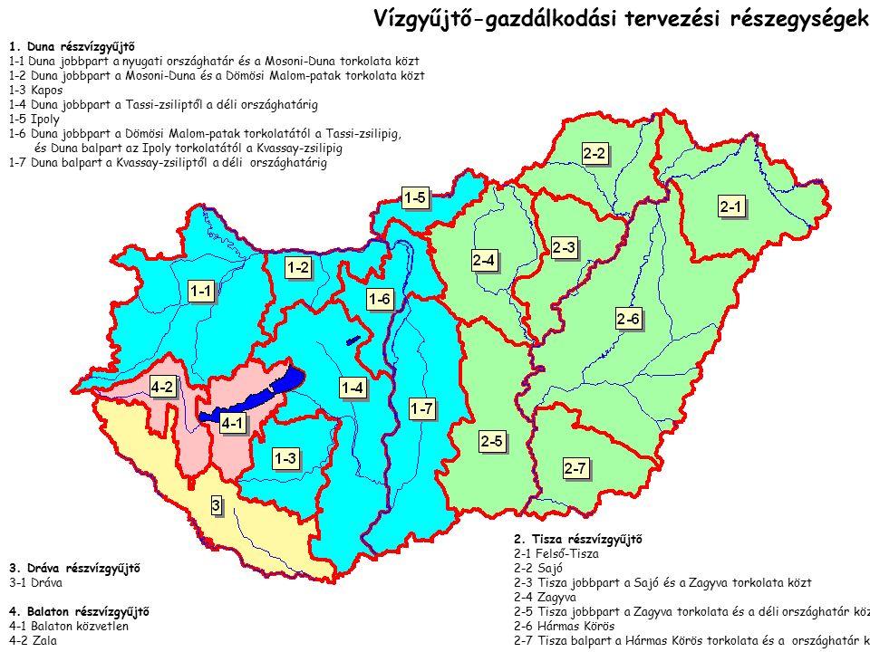 3. Dráva részvízgyűjtő 3-1 Dráva 4.