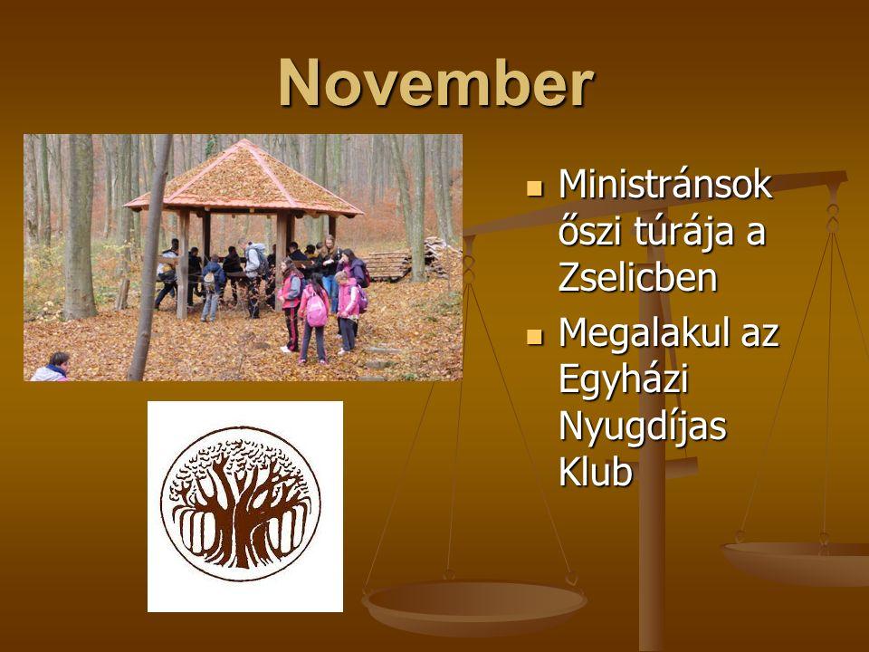 Október Hittanosaink a Desedához, a felnőttek Székesfehérvárra és környékére látogattak Hittanosaink a Desedához, a felnőttek Székesfehérvárra és környékére látogattak