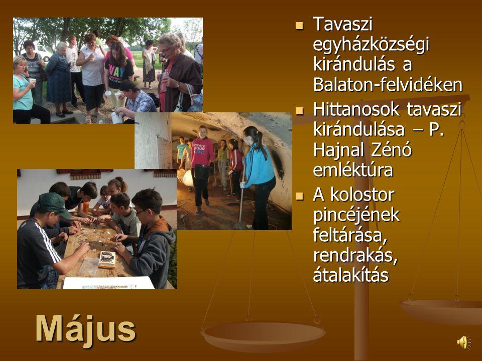 Április Hagyománnyá váló húsvéti ünneplés a hajnali szertartással Hagyománnyá váló húsvéti ünneplés a hajnali szertartással