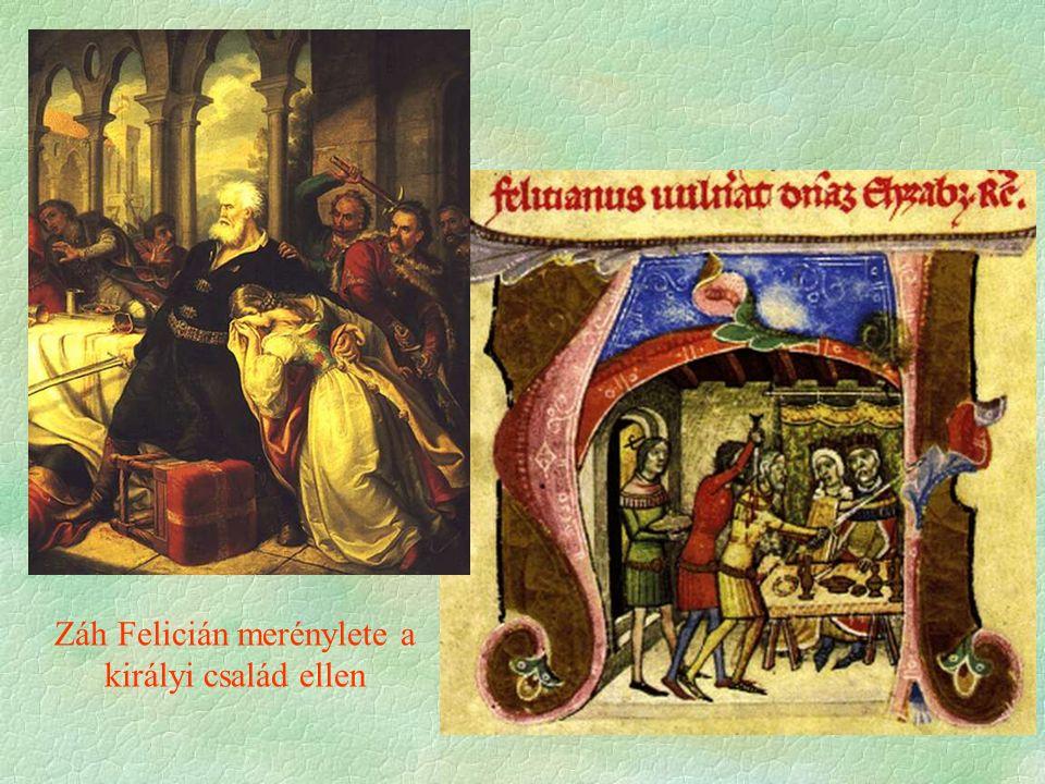 Záh Felicián merénylete a királyi család ellen