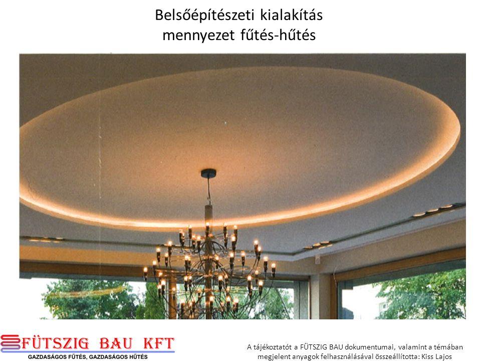 A tájékoztatót a FÜTSZIG BAU dokumentumai, valamint a témában megjelent anyagok felhasználásával összeállította: Kiss Lajos