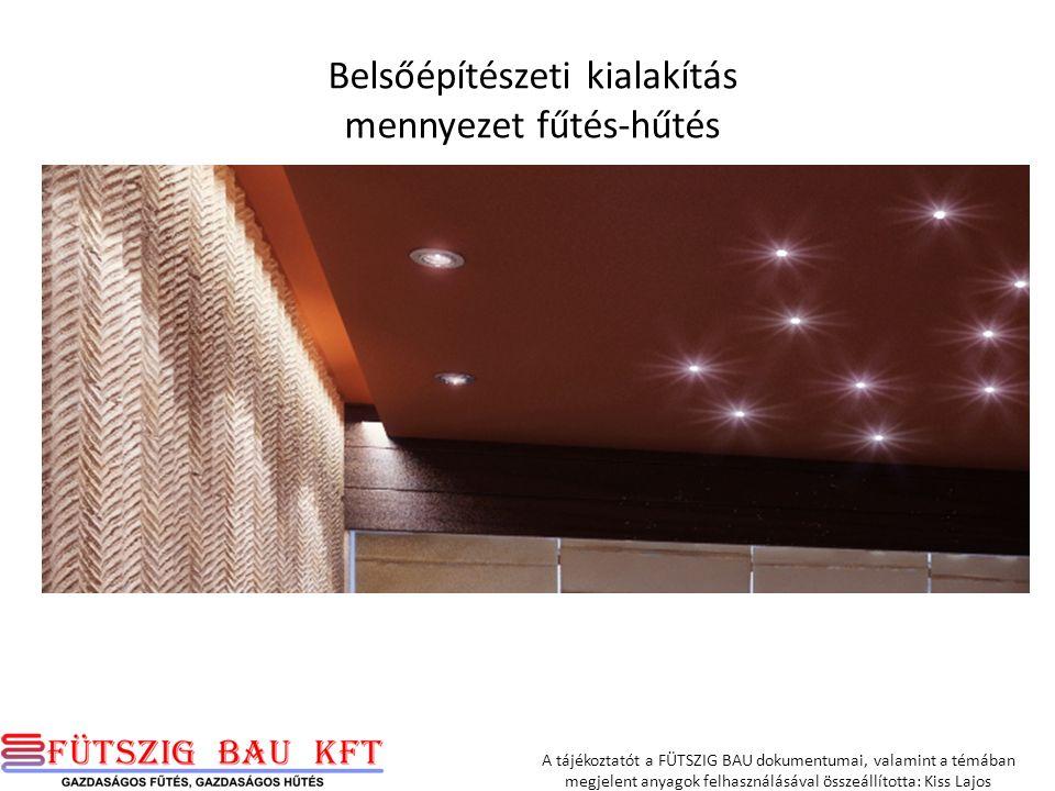 A tájékoztatót a FÜTSZIG BAU dokumentumai, valamint a témában megjelent anyagok felhasználásával összeállította: Kiss Lajos -- Bogdán Lívia okleveles építész Plusdesign Studio www.plusdesign.hu 1036 Budapest Perc u.