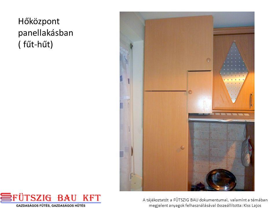 Hőközpont panellakásban ( fűt-hűt)