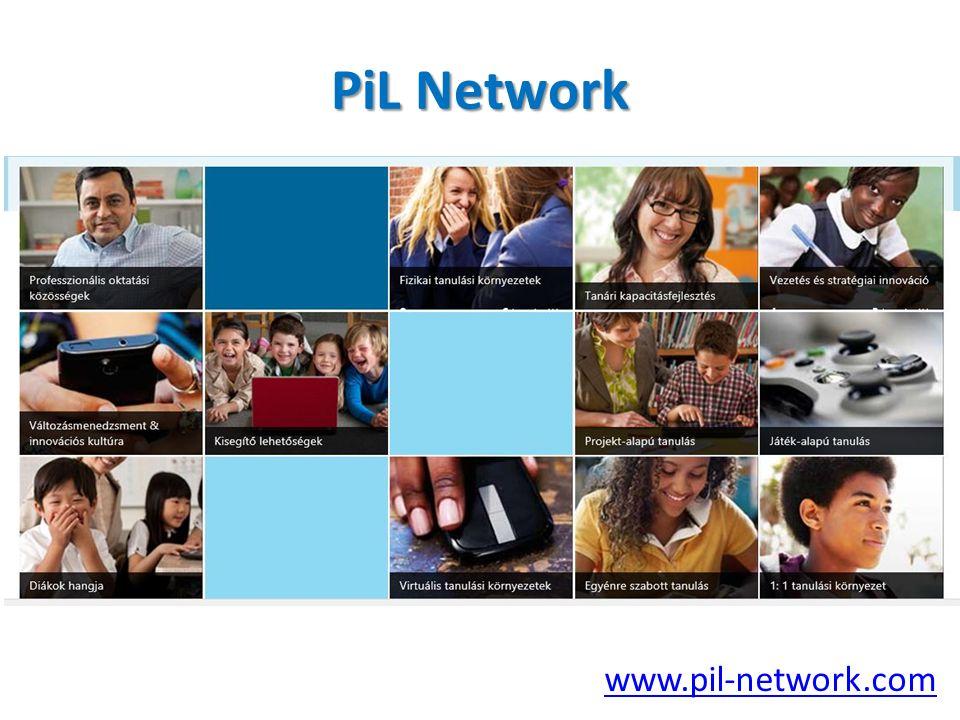 www.pil-network.com PiL Network