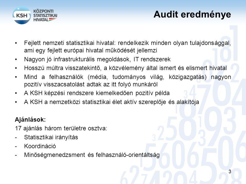 Végrehajtás, kapcsolódó ajánlások A statisztikai törvényben meg kell határozni az adminisztratív nyilvántartás fogalmát.