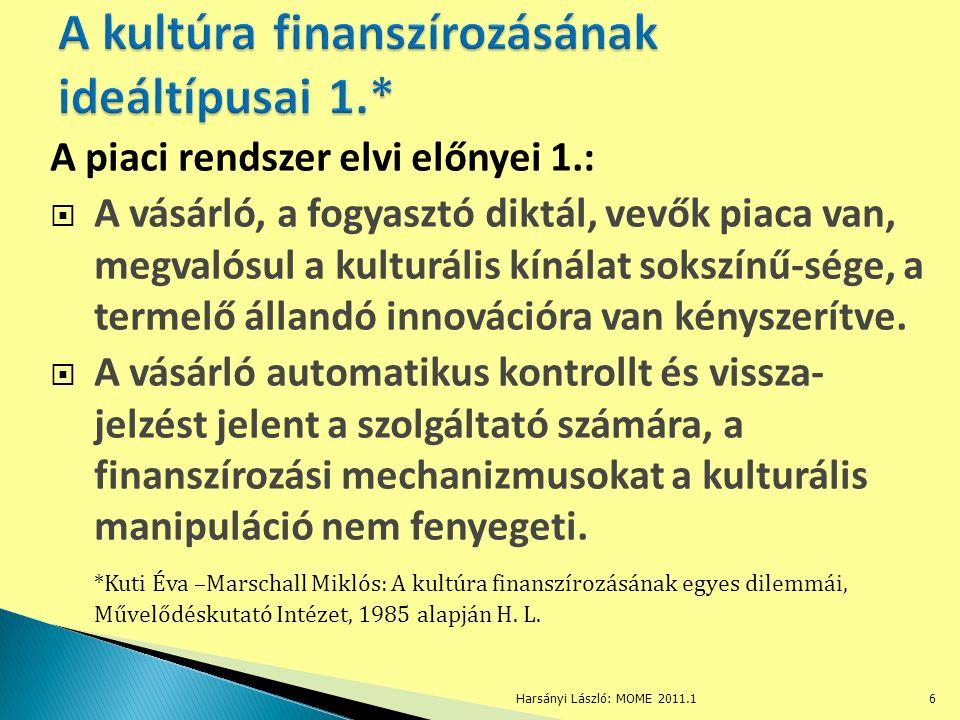 A piaci rendszer elvi előnyei 2.:  A piac nyitott, a be- és a kilépés szabad.