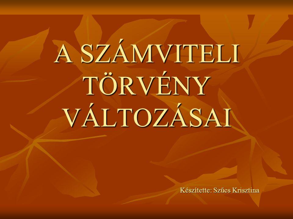 Adminisztrációs egyszerűsítések (2011 –re is alkalmazható) Egyszerűsített éves beszámolót készítő vállalkozások körének bővítése Zártkörűen működő részvénytársaságok Külföldi székhelyű vállalkozások magyarországi fiók telepei Naptári évtől eltérő üzleti évet választó vállalkozók Magyar, IFRS vagy bármi más alapú konszolidált beszámolóba bevont vállalkozások