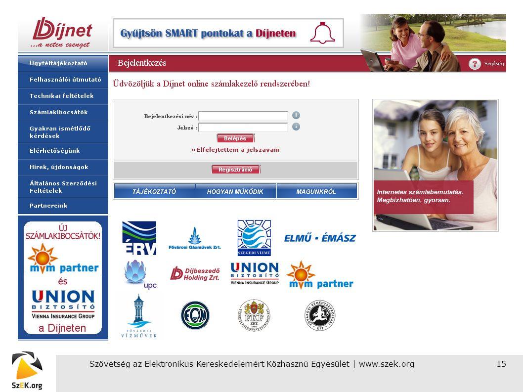 Szövetség az Elektronikus Kereskedelemért Közhasznú Egyesület | www.szek.org15