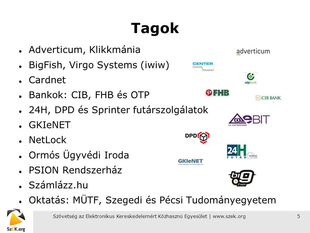 Szövetség az Elektronikus Kereskedelemért Közhasznú Egyesület | www.szek.org16