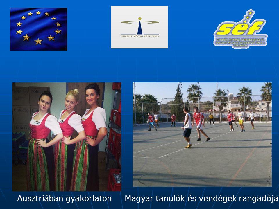 Ausztriában gyakorlatonMagyar tanulók és vendégek rangadója