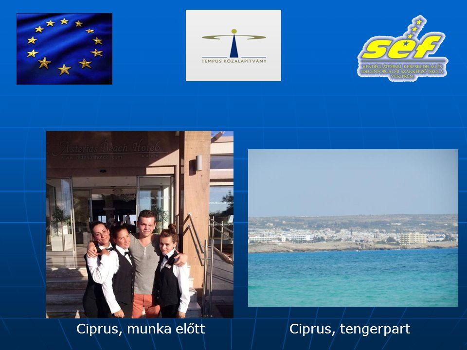 Ciprus, munka előttCiprus, tengerpart