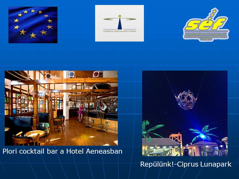 Plori cocktail bar a Hotel Aeneasban Repülünk!-Ciprus Lunapark