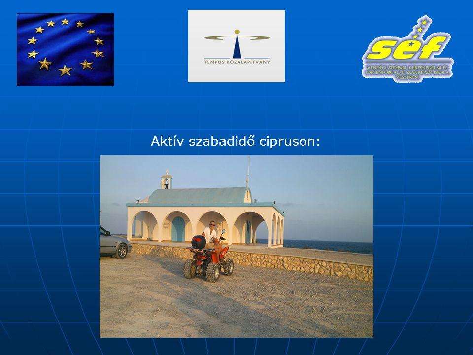 Aktív szabadidő cipruson: