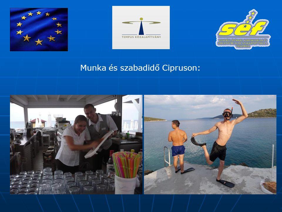 Munka és szabadidő Cipruson: