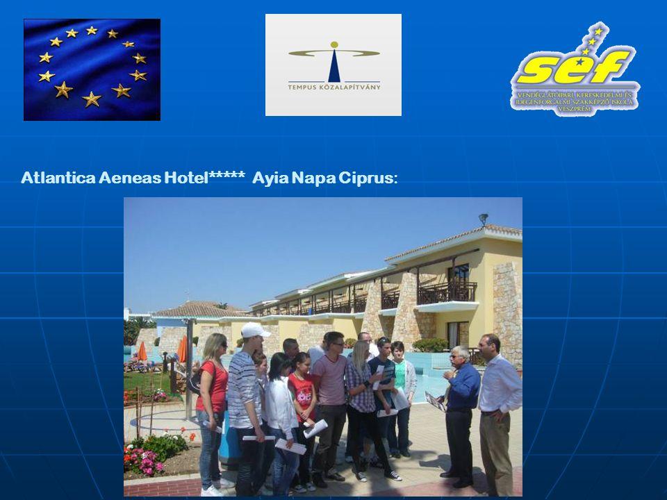 Atlantica Aeneas Hotel***** Ayia Napa Ciprus: