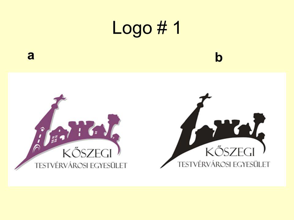 Logo # 1 a b