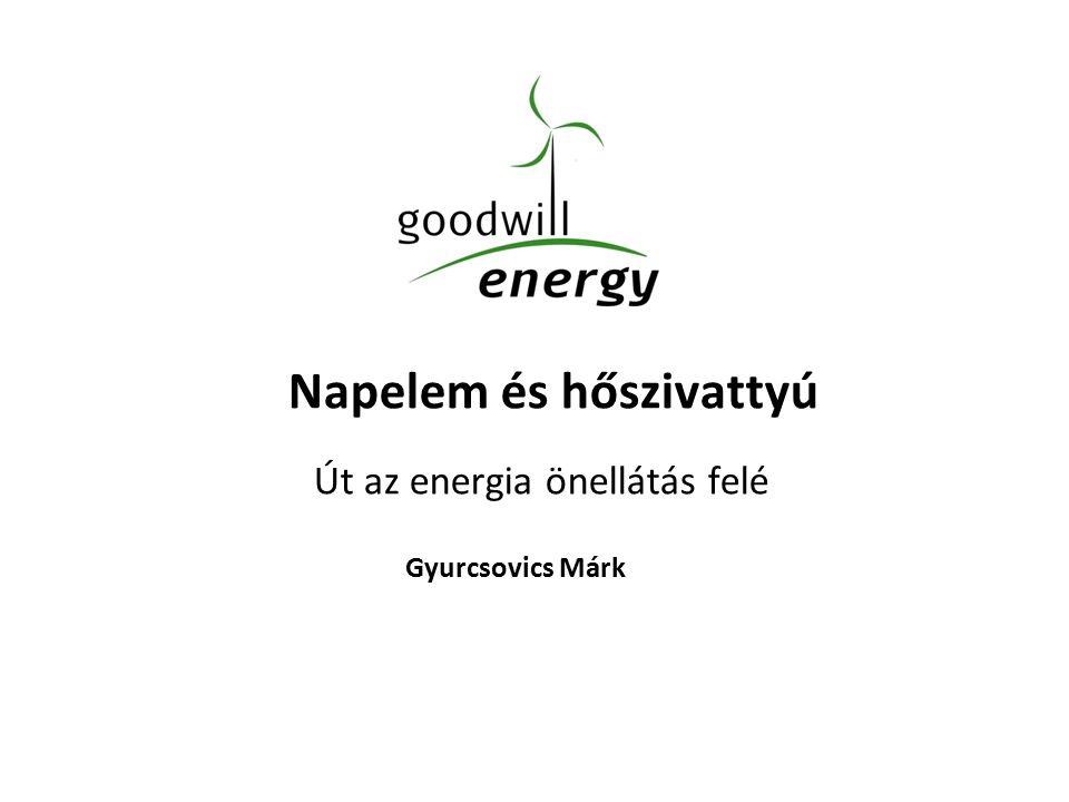 Napelem és hőszivattyú Út az energia önellátás felé Gyurcsovics Márk