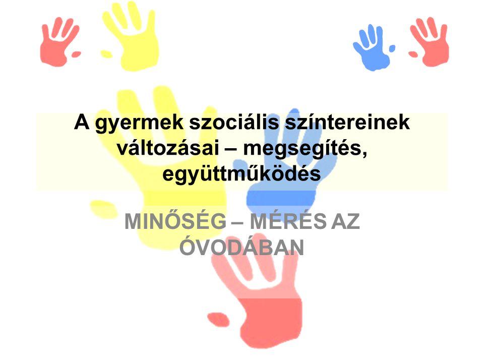 Forrás: Gyöngyszem Óvoda (1201 Bp.Vörösmarty u. 91 sz.) MIP- értékelés 2008/2009._ 2.