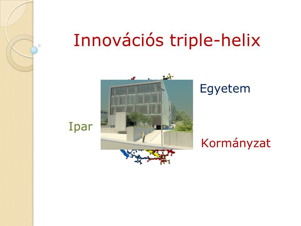 Egyetem Ipar Kormányzat Innovációs triple-helix