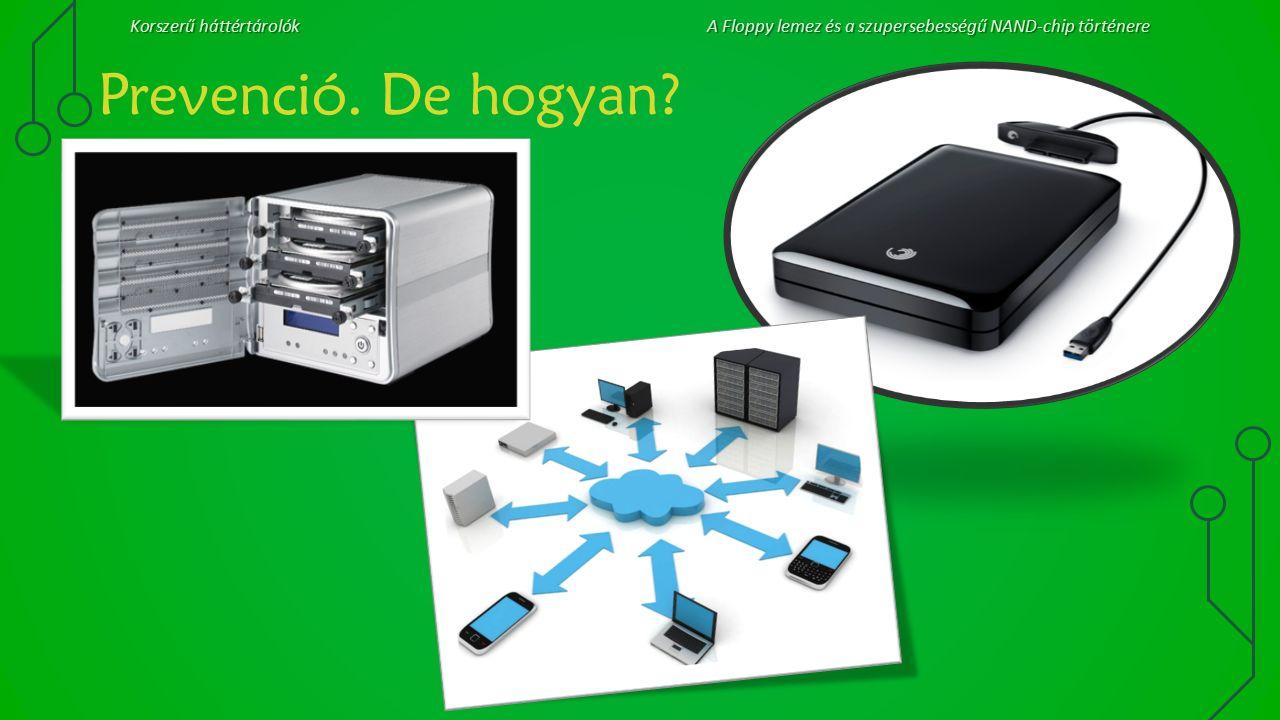Korszerű háttértárolókA Floppy lemez és a szupersebességű NAND-chip történere Prevenció. De hogyan?